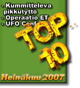 TOP 10 Heinäkuu2007