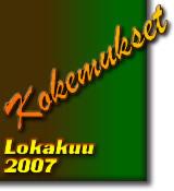Paranormaalit Kokemukset Lokakuu2007