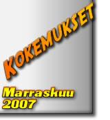 Paranormaalit Kokemukset Marraskuu 2007