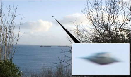 UFO Cornwallissa