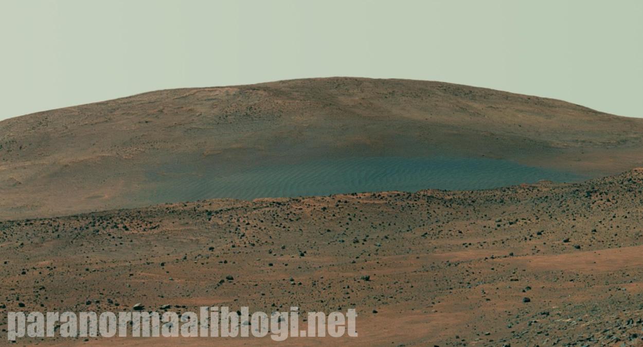 Vettä Marsissa